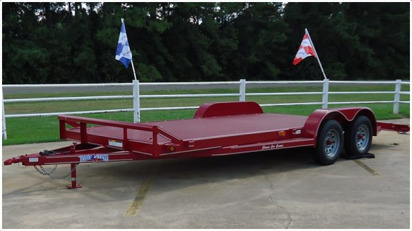 Texas Bragg Car Hauler
