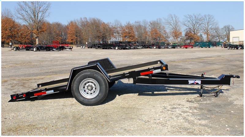 Heavy Equipment Tilt Trailer