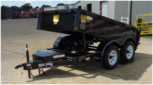 Texas Bragg Light Duty Dump Trailer