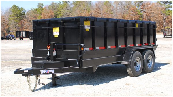 Texas Bragg Medium Duty Hydraulic Dump Trailer