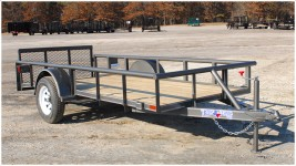 Single Axle Pipe Top Trailer