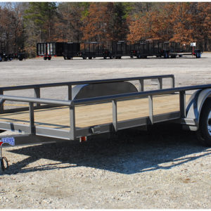 Tx Bragg Pipe Top tandem axle trailer