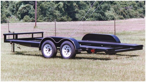 Texas Bragg Custom Car Hauler