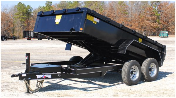 Texas Bragg General Purpose Hydraulic Dump Trailer