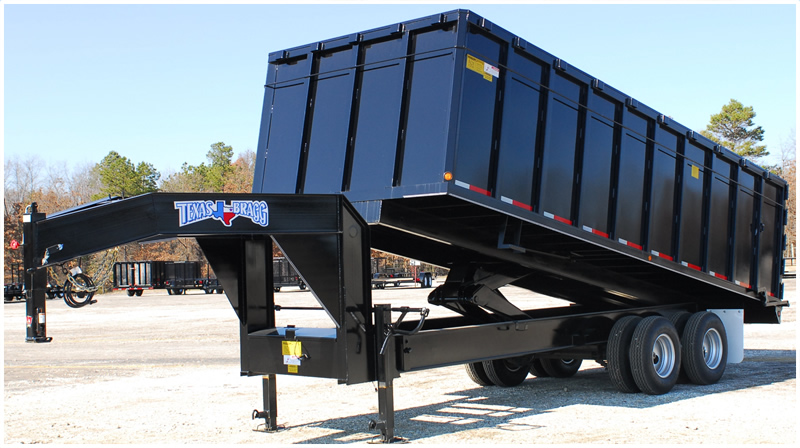 Texas Bragg Dump Trailer