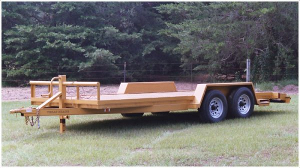 Texas Bragg LEO Equipment Trailer