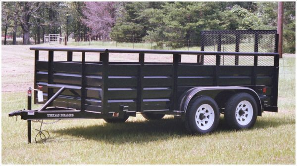 Texas Bragg Panel Wagon Trailer