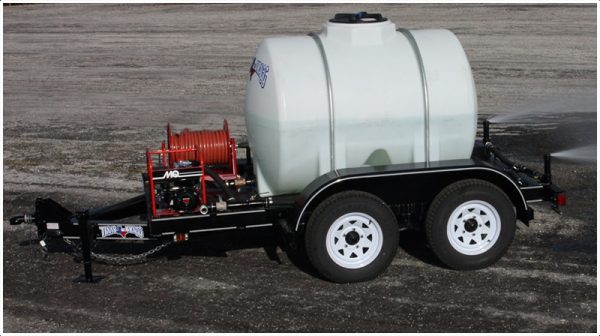 525 gallon water trailer